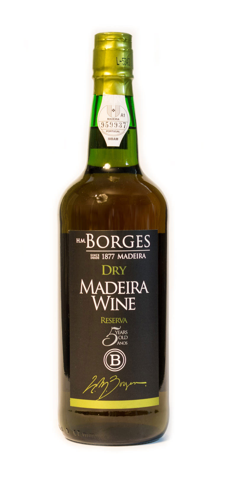 H.M. Borges Dry 5 Years Old
