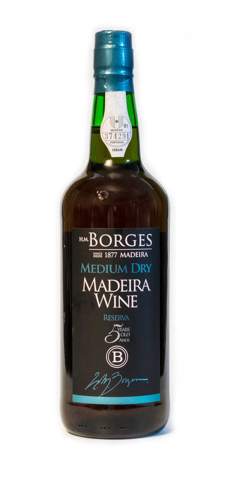 H.M. Borges Medium Dry 5 Years Old
